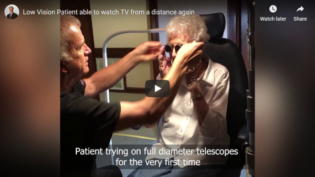 Screenshot 2019 03 21 Low Vision Patient able to watch TV from a distance again   YouTube